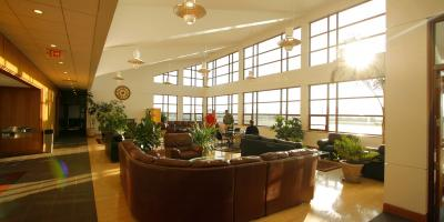 Penn State Aviation Center Lobby