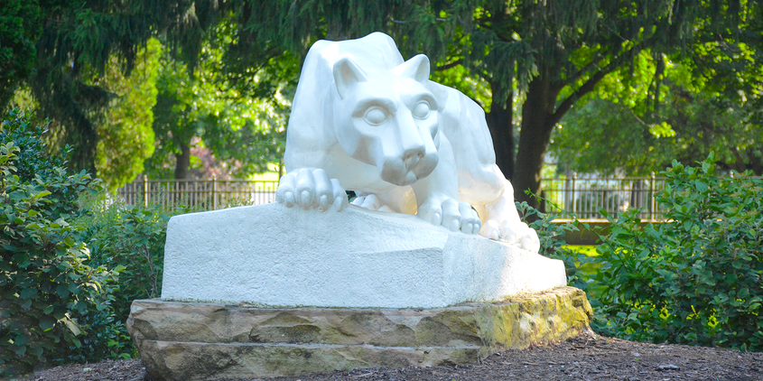 Lion Shrine at Penn State Schuylkill